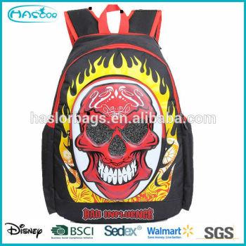 2015 Best seller cool design pattern mode sacs d'école pour adolescent garçons