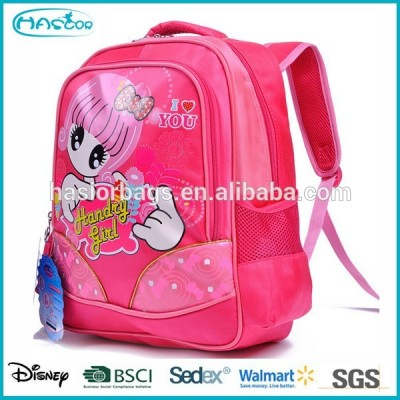 Lovely Girl Printing School Bag Factory From China