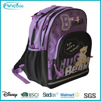 Backpack funky school bag with cartoon character