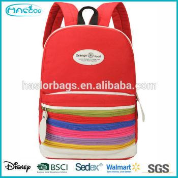 2015 mode à la mode sacs d'école pour les adolescents