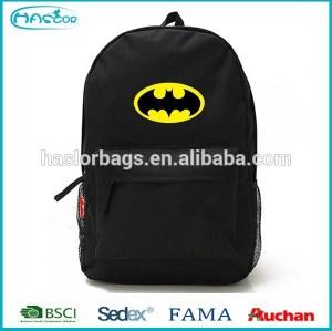 2015 new cool design batman school bag for teen boys