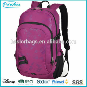 Newest design branded 2015 school bag with waterproof material
