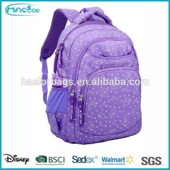 Belle couleur vive sac serrure de l'école pour filles