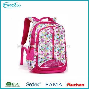 Nouveau Design de la main sangle sacs d'école pour fille