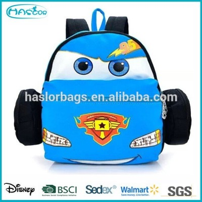 Kids Mini Canvas Backpack with Car Design