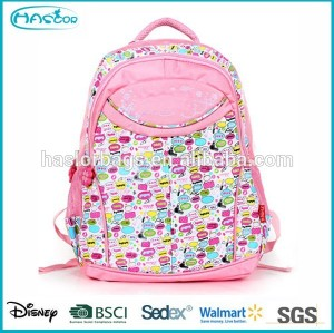 Popular Girl One Side School Bag with Good Printing