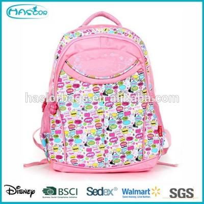 Popular Girl One Side School Bag with Good Printing