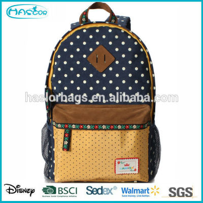 2016 new style primary school bags for teenagers girls