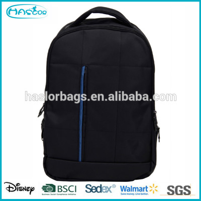 2015 sample design balck polyester with good quality school bags for boys