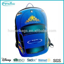 Wholesale Cute Cartoon 3D Car Children Fancy School Bag