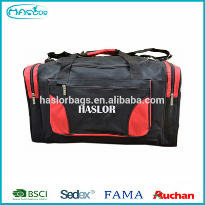 2015 high-capacity travel organizer bag with shoe compartment form China bag supplier