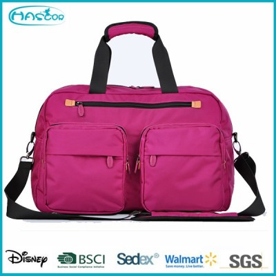 Colourful customized fashionable eminent travel bag with high quality