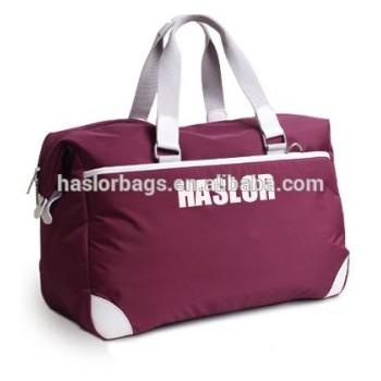 Mode loisirs Nylon imperméable sacs de voyage de haute qualité