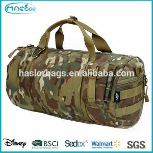 Meilleur camouflage sacs de sport étanche armée militaire sac polochon