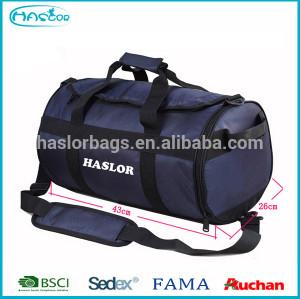 2015 fashion custom rolling duffel bag with secret compartment