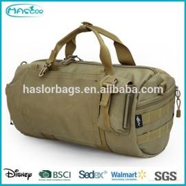 Bonne conception de temps de voyage armée sac polochon sac avec prix usine