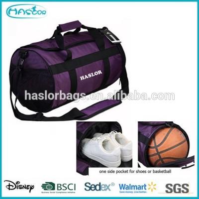 2015 hot sale durable fabric gym bag ball sports bag