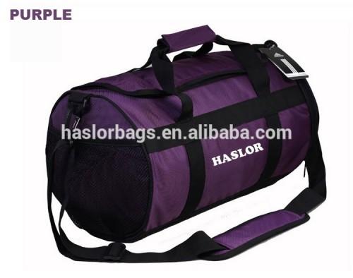 2015 hot vente durable tissu sac de sport de sac de sport