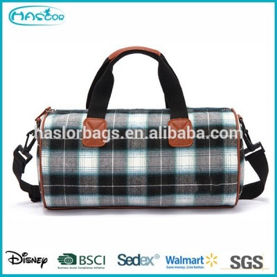 Ripstop Pattern Printing of Cotton Gym Bag for Man