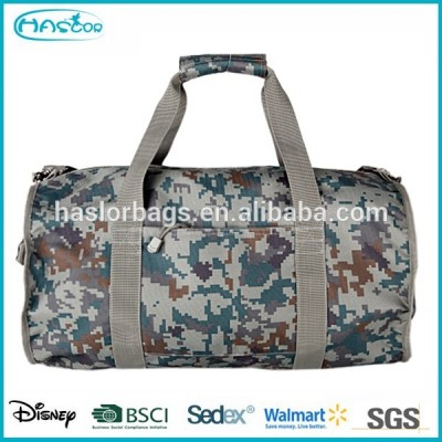 Polyester waterproof custom brand traveling bags with camouflage