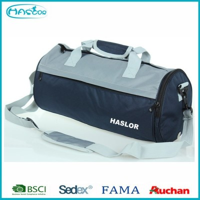 Cheap Round Sport Bags for Gym with shoe compartment Made in China