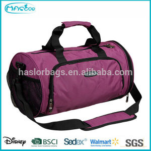 Polyester Rolling Sports Bags for Gym with Shoe Compartment