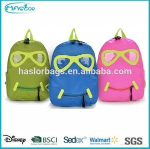 Sourire visage petit sac à dos étanche pour enfants