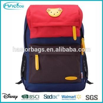 Nouveau design à la mode sac d'école pour les étudiants universitaires