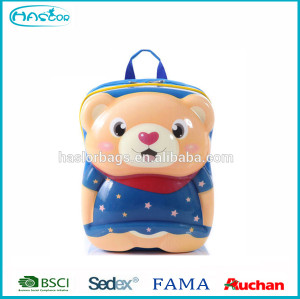 2015 new style cute bear molded backpack for kids