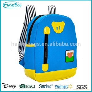 2015 Wholesale Stylish Polyester Simple School Backpack For Kids