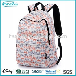 Wholesale high class student school bag and backpack