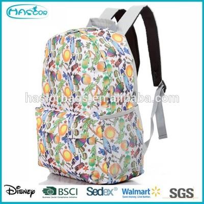 sublimation hot design school bags trendy backpacks