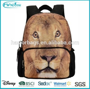 New trendy teenage custom print backpack
