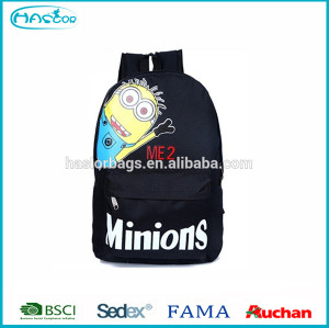 Cartoon design school despicable minion backpack