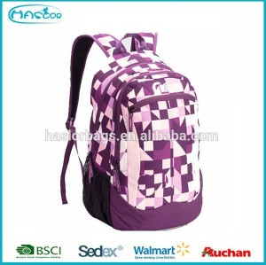 2015 colorful design custom college backpack for student