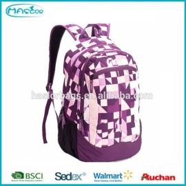 2015 design coloré personnalisé collège sac à dos pour les étudiants