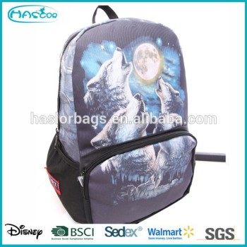Nouveau design plus populaire loup sac à dos