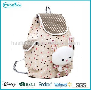 Wholesale Unique Cute Animal School Bag, Cheap Canvas Kids Backpack