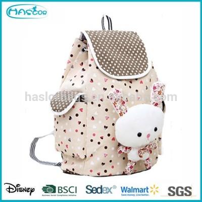 Wholesale Unique Cute Animal School Bag, Cheap Canvas Kids Backpack