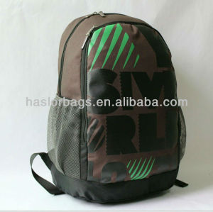 Polyester Simple Laptop Backpacks Design for High School from China Manufacturer