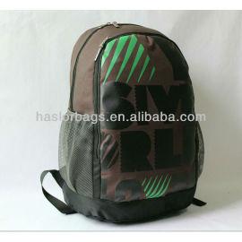 Polyester portables simples sacs à dos Design pour le lycée de la chine fabricant