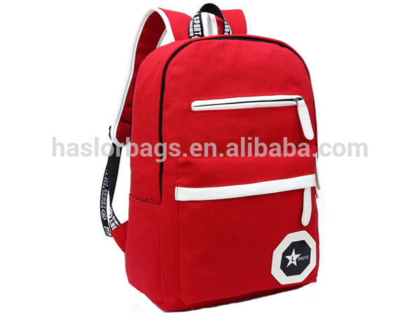 Korean Fashion Canvas Cute Backpack Bag For High School Girls