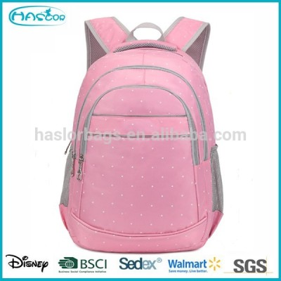 Wholesale Pink Fashion High School Backpack Cheap Backpack For Teenage Girls