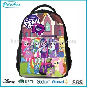 High Quanlity Cheap Youth School Backpack With Horse