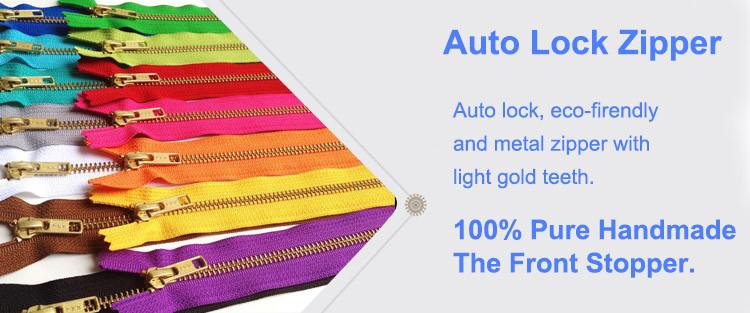 auto-lock-zipper