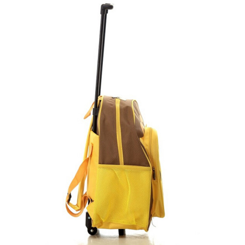 2016 Cheap Wheeled School Backpack with Detachable Trolley