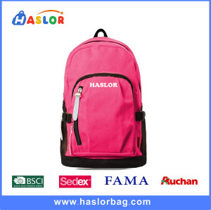2016 Colorful Wholesale Low Cost Backpack for Teenagers