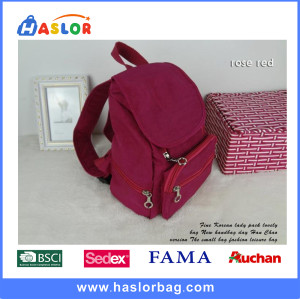 2016 New Design Fashion School Backpack for Girls