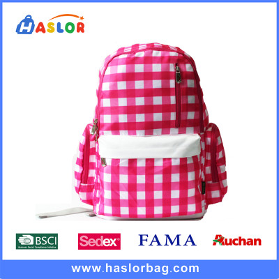 China Manufacturer Fashion Teenage Girl School Bags