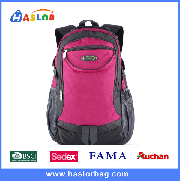 Sedex 2016 High Quality Custom Waterproof Sports Backpack Bag for Outdoor